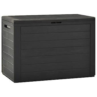 Garden Storage Box Anthracite 78x44x55 Cm