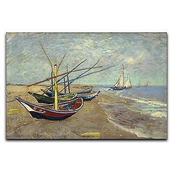 Kalastusveneet Sainte Marien kankaalla