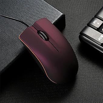 Office Mouse Matte Usb Gaming Muizen Voor pc/notebook/laptop Anti-slip Bedrade Muis