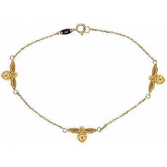 Mark Milton Tre Bi Armband - Guld