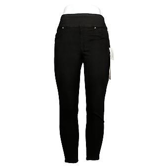 DG2 af Diane Gilman Petite Leggings Comfort Waist Skinny Jegging Black 733923