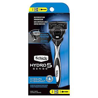 Schick hydro 5 sense hydrate razor, 1 ea