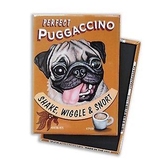 Magnet, Køleskabsmagnet, Perfekt Puggaccino Shake, Wiggle & Snort