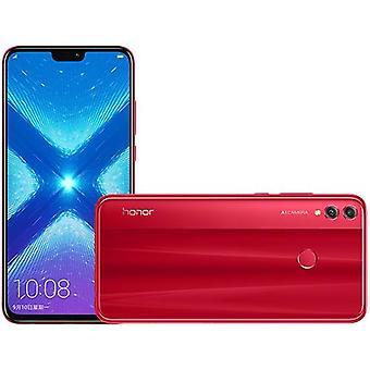 スマートフォン名誉8X 6GB / 128GB赤デュアルSIMヨーロッパ版
