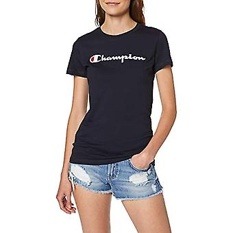 Champion Woman - Classic Logo T-shirt - Blue, M