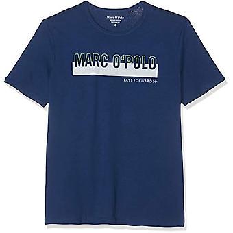 Marc O'Polo 9.23222E+11 Camiseta, Azul (Azul Verano 857), Hombre Pequeño