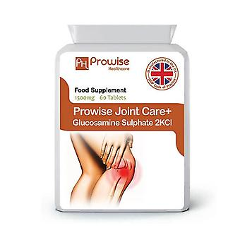 Joint Care+ (Glucosamine Sulphate 2KCl) 1500mg 60 Tablets | Made In UK by Prowise