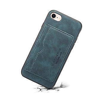 Slot per la custodia in pelle portafoglio per samsung note9 blu no3045