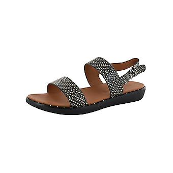 Fitflop Mujer Barra Dotted Snake Back Strap Sandal Shoes