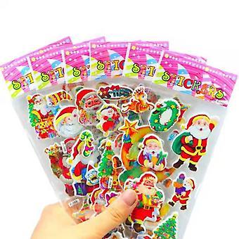 Adesivi in fogli da 12 pezzi - motivo natalizio - design natalizio