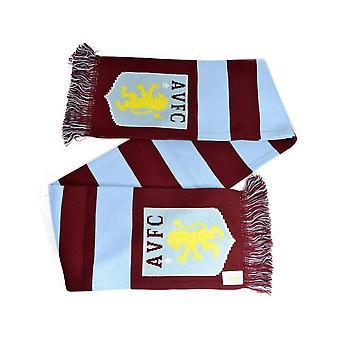 Aston Villa Jacquard Knit Bar Scarf
