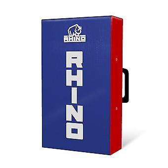 Rhino Mini Hit Shield 50x30x10cm Bleu/Rouge