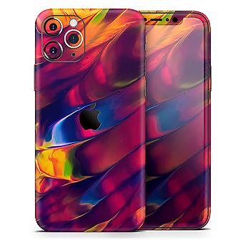 Blurred Abstract Flow V13 - Skin-Kit kompatibel mit dem Apple Iphone