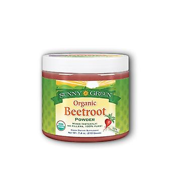 Sunny Green Organic Beetroot Powder, 7.4 Oz
