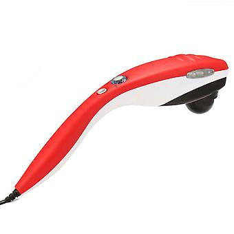 Hand-held Body Electric Massager, Back, Shoulder, Neck, Waist And Leg-red