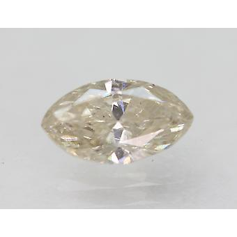 Certificado 0.85 Quilate J VS2 Marquise Enhanced Natural Diamond 8.43x4.76mm 2VG