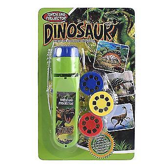 Parent Child Interactive Puzzle Animal Dinosaur Sliding Projector