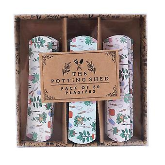 Pack of 30 Assorted Plasters | The Potting Shed Theme | Gift Item