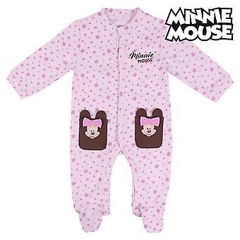 Детский комбинезон с длинными рукавами Minnie Mouse Pink