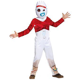 Forky Classic Spork Toy Story 4 Disney Pixar Film Sous licence Enfant Garçons Costume