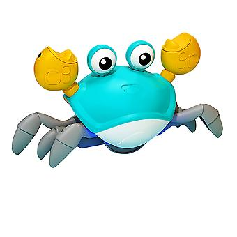 Children's Induction Crab Toy Rechargeable Crawling Crab Toys with Sensor Obstacle Avoidance Function