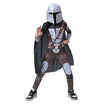 Hunter Kostuum Kids Cosplay Jumpsuit Kind Zip Up Outfit (110cm)