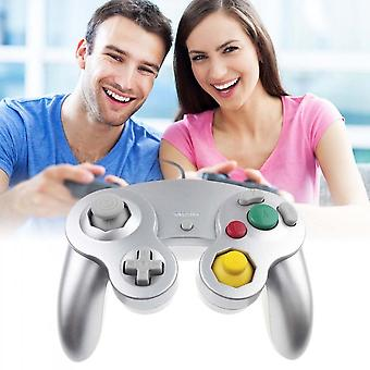 2 Pcs Wired Dual Shock Gamecube Controller For Nintendo Wii Gc Ngc Gamepad