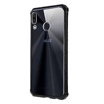 Zenfone ماكس برو M1 ZB601KL / ZB602KL غطاء حالة TPU مقاوم للصدمة - أسود