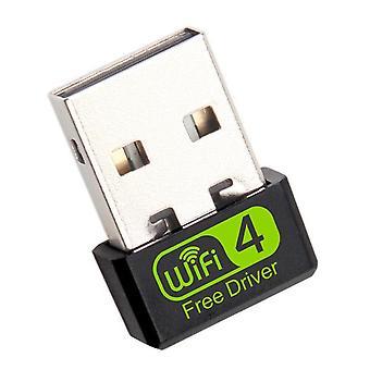 Mini USB WiFi Adapter 150Mbps Wi-Fi Adapter Voor PC USB Ethernet WiFi Dongle 2.4G Netwerkkaart Antena