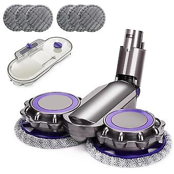 Electric floor head for dyson v6 animal v6 fluffy dc58 dc59 dc61 dc62 dc74 vacuum cleaner parts wet dry mopping head