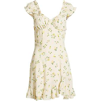 Free People Women's Like A Lady Printed Mini Dress
