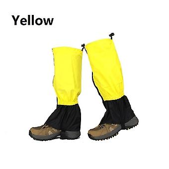 Outdoor hiking legging gaiters waterproof leg covers for camping climbing skiing desert boots shoes snow gaiters legs protection