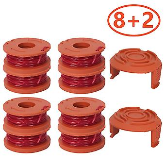 Line Mowing Wire Lawn Mower Accessory With 2 Covers