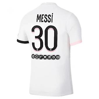 2021-2022 Messi Psg Training Clothes Away Jersey No. 30 Children Size
