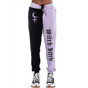 Too Fast Two Tone Witch Bitch Sweatpants