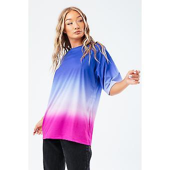 Hype Naisten/Ladies Vice Fade Boxy T-paita