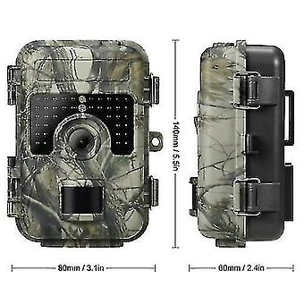 Camouflage Trail Camera's 6mp 080p Trail Camera Jacht Game Camera Outdoor Camping Wildlife Scouting Camera-12