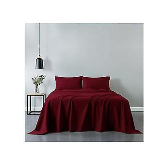 Royal Comfort Cotton Sheet Set Fitted Flat Sheet Pillowcases Single