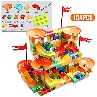 154buc City Blocuri de constructii Diy Big Cărămizi Jucării pentru copii cadou