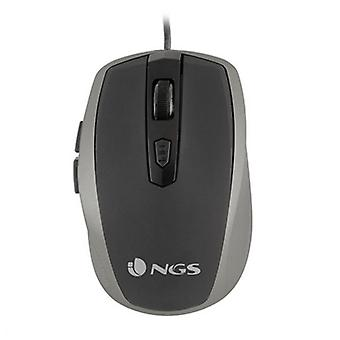 Optical mouse NGS Tick Silver USB Silver