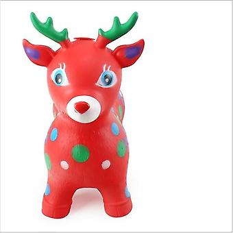Inflatable Musical Pvc Jumping Deer Toy