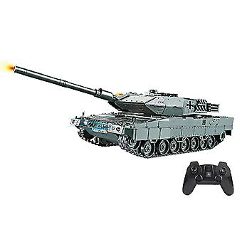Rc Battle Tank Military War Heavy Large Interactive Remote Control Giocattolo