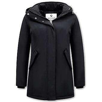 Winter coat Parka - Slim Fit - Black