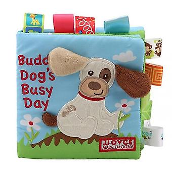 Soft Cloth Books Newborn Early Learning Develop Cognize Reading Toys