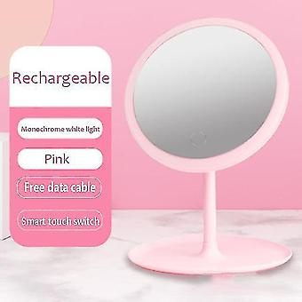 Mirrors 5 times magnifying glass multi function makeup mirror led touch luminous makeup table mirror