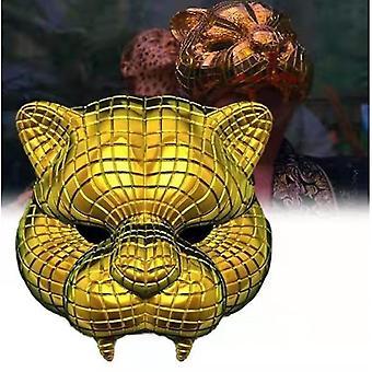 Bläckfisk spel Gyllene Tiger Mask Halloween Bläckfisk Spel Roll Spela Mask