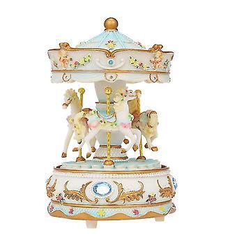 Merry-go-round Clockwork Castle Music Box