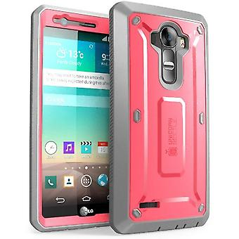 LG G4 Case, SUPCASE,Unicorn Beetle with Built-in Screen Protector for LG G4 2015 Release-Pink/Gray