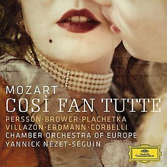 W.a. Mozart - Mozart: Cos fläktar Tutte [CD] USA import