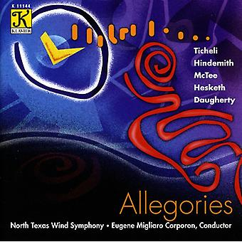 North Texas Wind Symphony - Allegories [CD] USA import